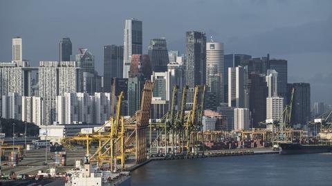 新加坡总理李显龙表示2019年新加坡经济将略有所增长 hinh anh 1