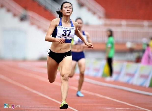 越南田径运动员黎绣征及其维护东南亚速度女王称号的目标 hinh anh 1