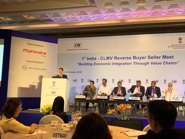 越南出席印度—CLMV企业对接会议 hinh anh 1
