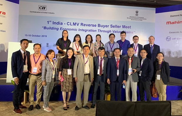 越南出席印度—CLMV企业对接会议 hinh anh 2