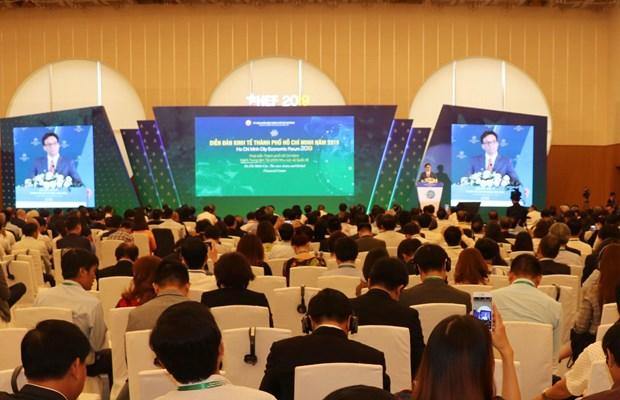 2019年胡志明市经济论坛正式开幕 hinh anh 2