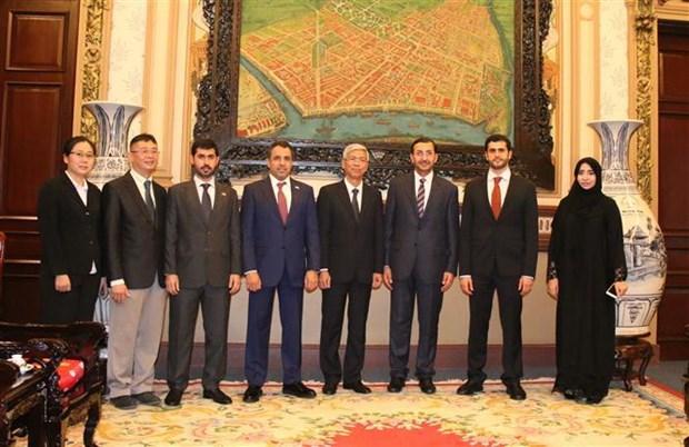 促进胡志明市与阿联酋的合作关系 hinh anh 2