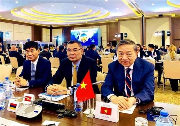 越南呼吁加强网络安全的国际合作 hinh anh 1