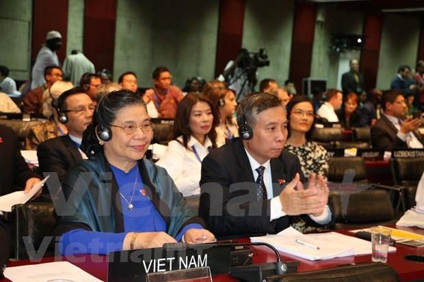 越南国会常务副主席丛氏放出席第141届各国议会联盟大会闭幕式 hinh anh 2