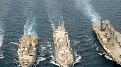 印度与泰国海军开展第二次联合演习 hinh anh 1