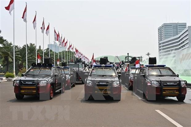 印尼总统佐科宣誓就职 越南国家副主席出席典礼 hinh anh 2