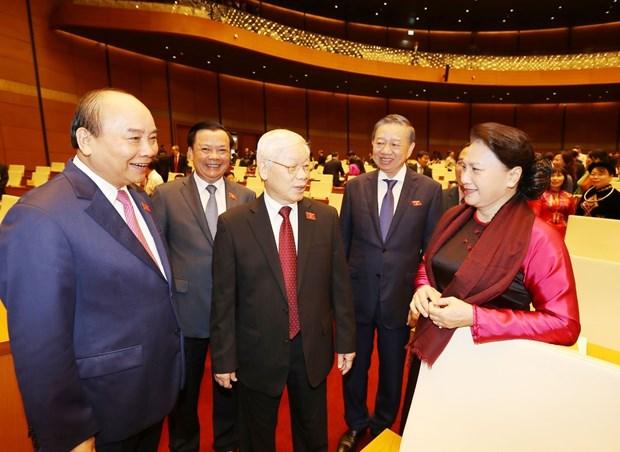 越南第十四届国会第八次会议:切实保障宏观经济平稳运行 hinh anh 1
