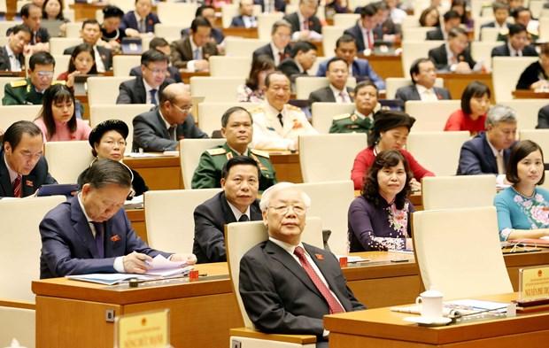 越南第十四届国会第八次会议:切实保障宏观经济平稳运行 hinh anh 2