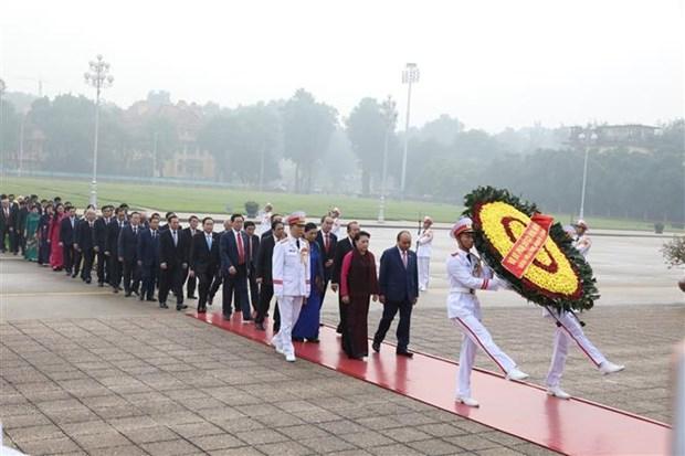 越南第十四届国会第八次会议隆重开幕 hinh anh 2