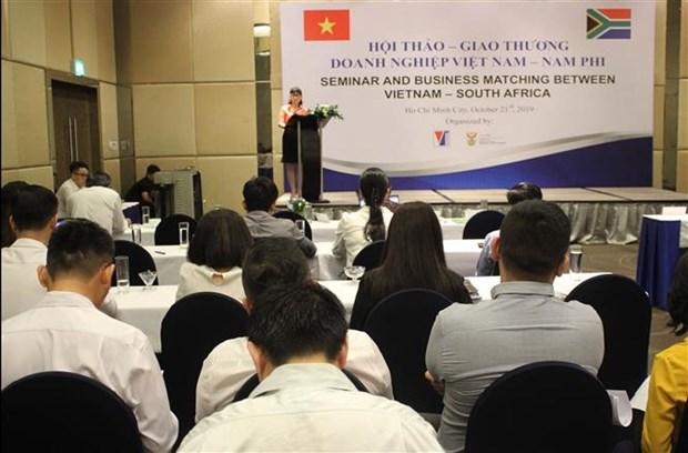 南非企业寻找在越南的经营合作机会 hinh anh 1