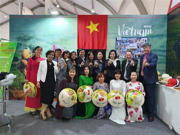 越南企业参加在韩国举行的2019年国际农业展览会 hinh anh 2
