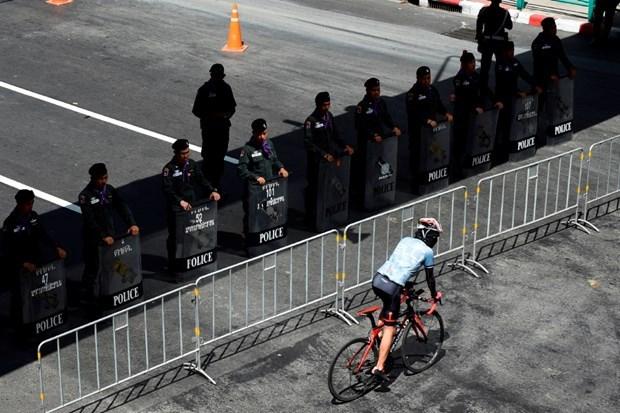 泰国对第35届东盟峰会安全保障工作进行检查 hinh anh 1
