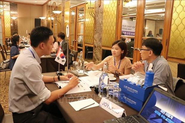 韩国企业在胡志明市开展贸促工作 hinh anh 1
