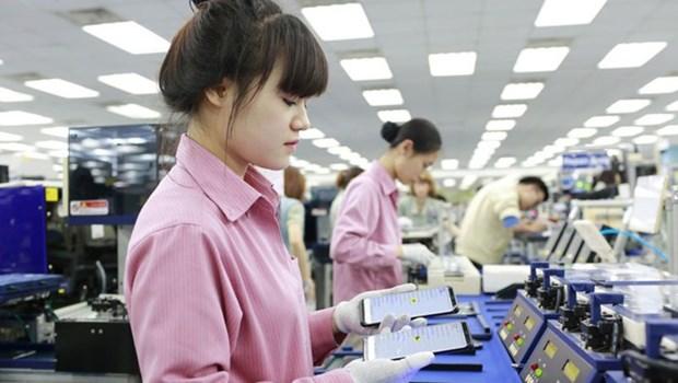 越南与三星集团加强模具行业人力资源培训合作 hinh anh 1