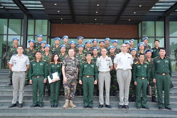 越法加强联合国维和行动领域的合作 hinh anh 1