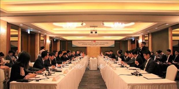 越韩工业、贸易、能源合作混合委员会第九次会议在韩国举行 hinh anh 1