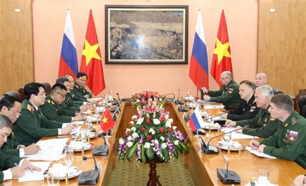 俄罗斯国防部代表团对越南进行正式访问 hinh anh 2