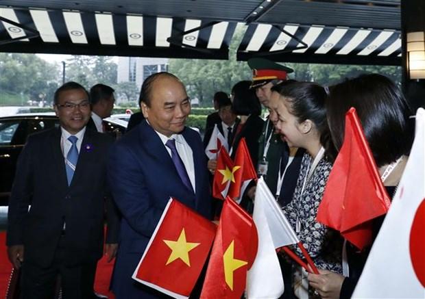 越南政府总理阮春福赴日出席日本天皇即位庆典 hinh anh 1