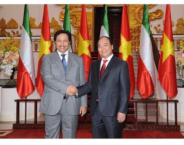 阮春福总理访问科威特:进一步深化越南与科威特之间的合作 hinh anh 2
