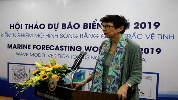 挪威协助越南提高海洋环境预报能力 hinh anh 1