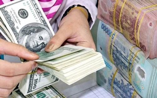 10月23日越盾对美元汇率中间价上调6越盾 hinh anh 1