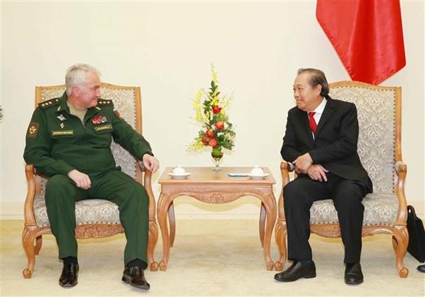 进一步推动越南与俄罗斯防务合作务实发展 hinh anh 1