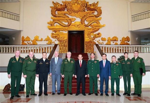 进一步推动越南与俄罗斯防务合作务实发展 hinh anh 2