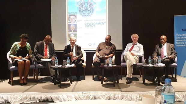 坦桑尼亚发展意图高级别对话:越南发展成就获得广泛高度评价 hinh anh 1