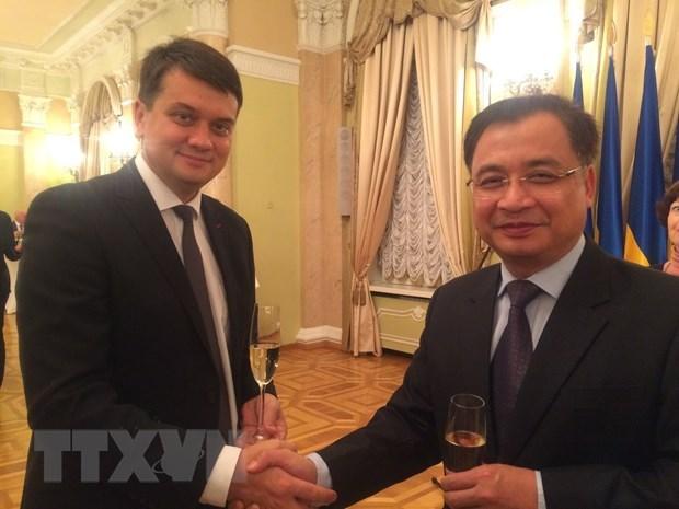 越南与乌克兰进一步加强立法与监督合作 hinh anh 1
