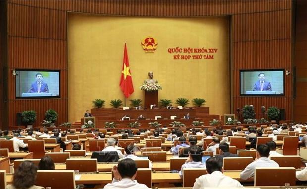 越南第十四届国会第八次会议公报(第四号) hinh anh 1