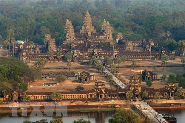 柬埔寨吴哥古迹国际游客大幅下降 hinh anh 1