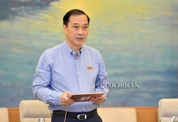 越南第十四届国会第八次会议:对干部、公务员与职员队伍建立和管理主张进行法制化 hinh anh 2