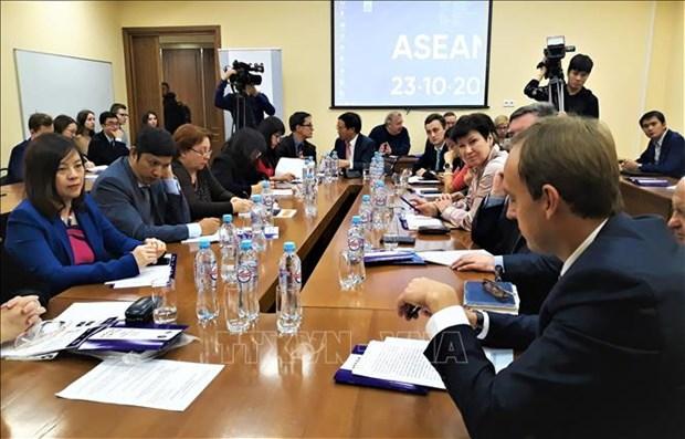 越南支持俄罗斯与东盟的合作关系 hinh anh 1