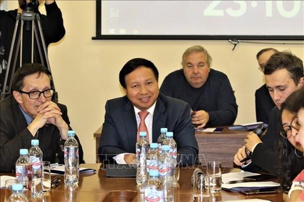 越南支持俄罗斯与东盟的合作关系 hinh anh 2
