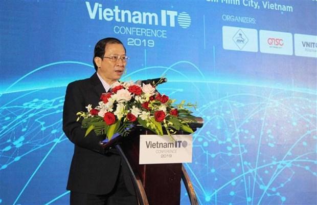 2019年越南信息技术服务业发展会议在胡志明市开幕 hinh anh 1