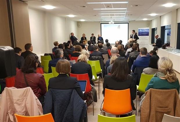 东海问题研讨会在比利时举行 hinh anh 1