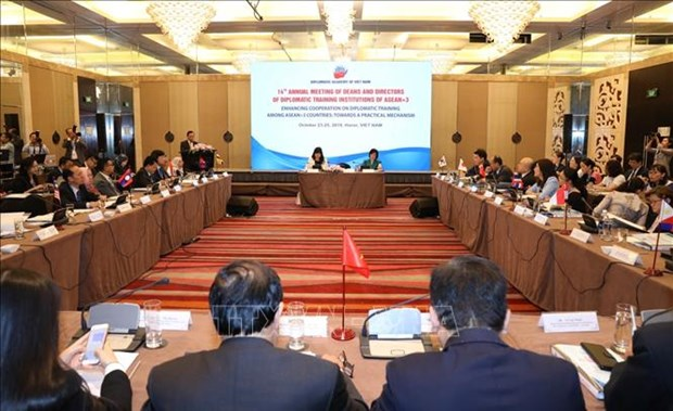 阮月娥大使:越南外交人员应适应数字时代背景下的挑战和机遇 hinh anh 1