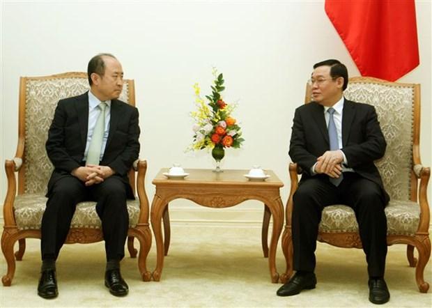 王廷惠副总理会见韩国外交部负责经济事务的副部长云康贤 hinh anh 2