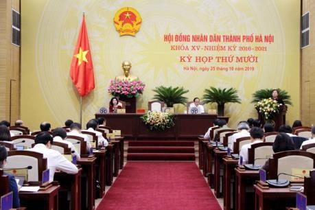 河内市第十五届人民议会召开第十次会议 hinh anh 1