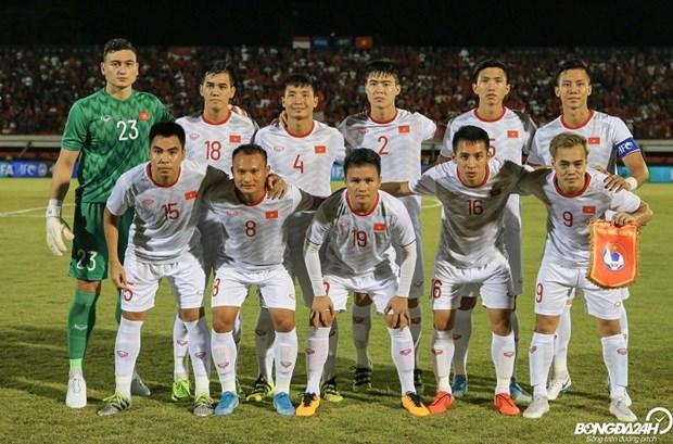 FIFA排名:越南国足排名上升两位 跻身世界第97位 hinh anh 1