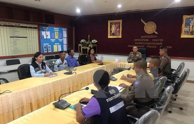 越南驻泰大使馆:两名越南籍渔民海上漂流5天奇迹获救 hinh anh 1