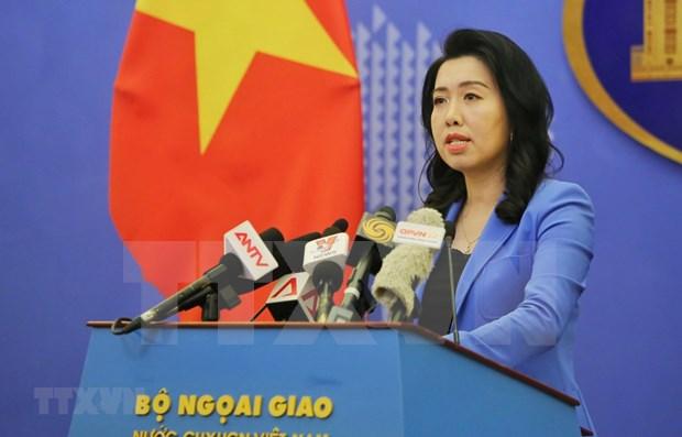 越南希望并深信中方将采取有力措施保障在香港越南公民与企业的安全 hinh anh 1