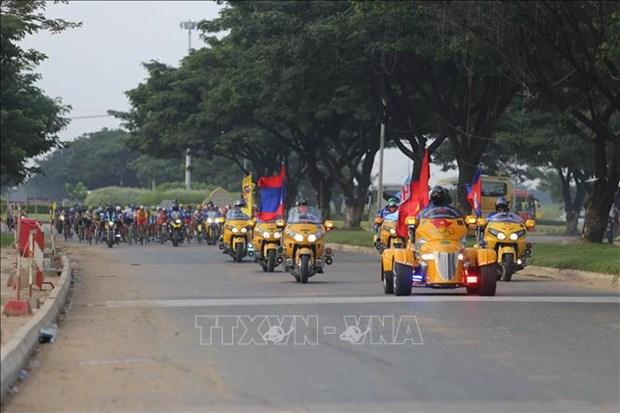 南圻起义自行车赛事首次经过柬埔寨金边 hinh anh 1
