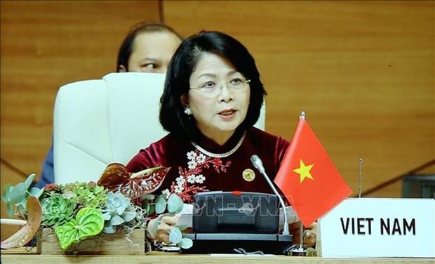 越南国家副主席:越南与各成员国深化团结与协作促进不结盟运动发展 hinh anh 2