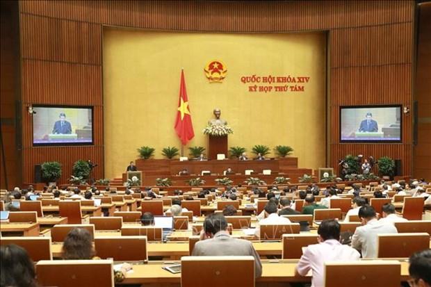 越南第十四届国会第八次会议进入第二周 hinh anh 1