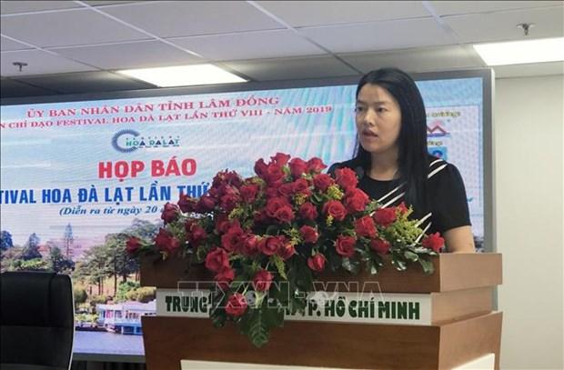 2019年第八届大叻花卉节将于12月份举行 hinh anh 1
