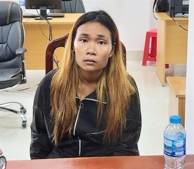 越南警方破获一起跨境贩毒案 缴获5公斤冰毒 hinh anh 1