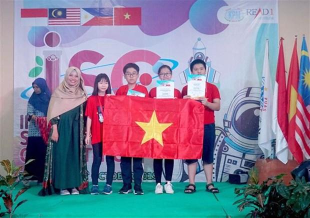 2019年国际科学竞赛:越南学生斩获4枚金牌 hinh anh 1
