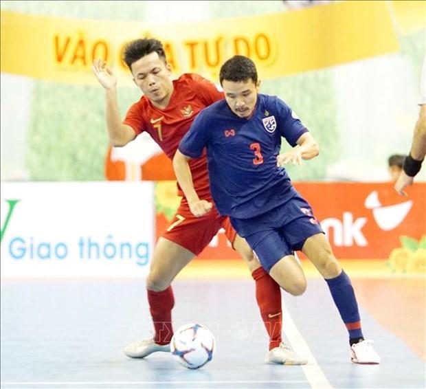 2019年HDBank杯东南亚室内五人制足球锦标赛:泰国队获得冠军 hinh anh 1