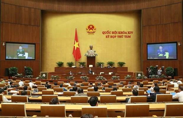 越南第十四届国会第八次会议:对另外两部法案提出意见 hinh anh 1